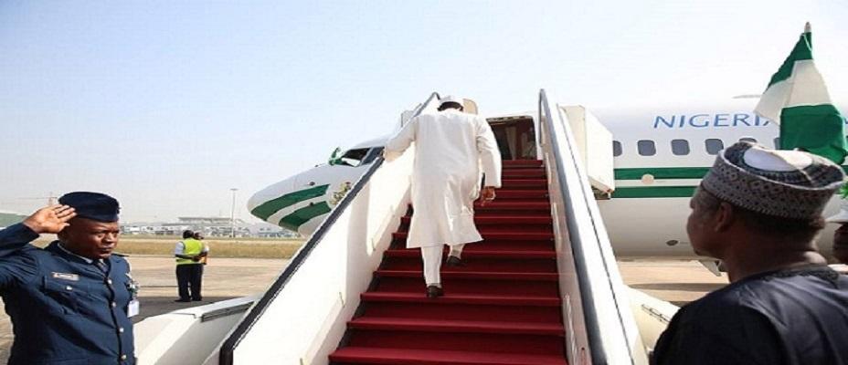 Nigerian President Leaves Abuja For United States