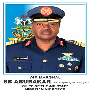 Chief of Air Staff Visits Task Force Of Operation Lafiya Dole In Maiduguri