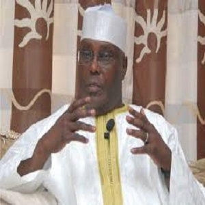 PDP: ATIKU EXPRESSED CONCERNS OVER THE DISPOSITION OF THE NIGERIAN GOVT. TO POLITICIANS