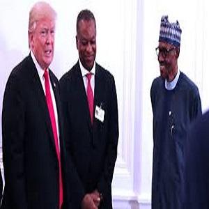 Nigeria President Meets Trump at White House