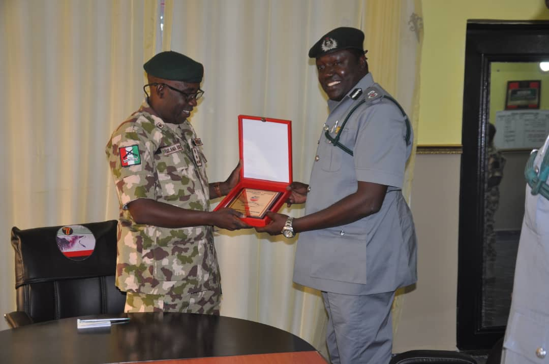 ARMY  COLLABORATES WITH NIGERIA CUSTOMS TO PROMOTE TRANSNATIONAL TRADE