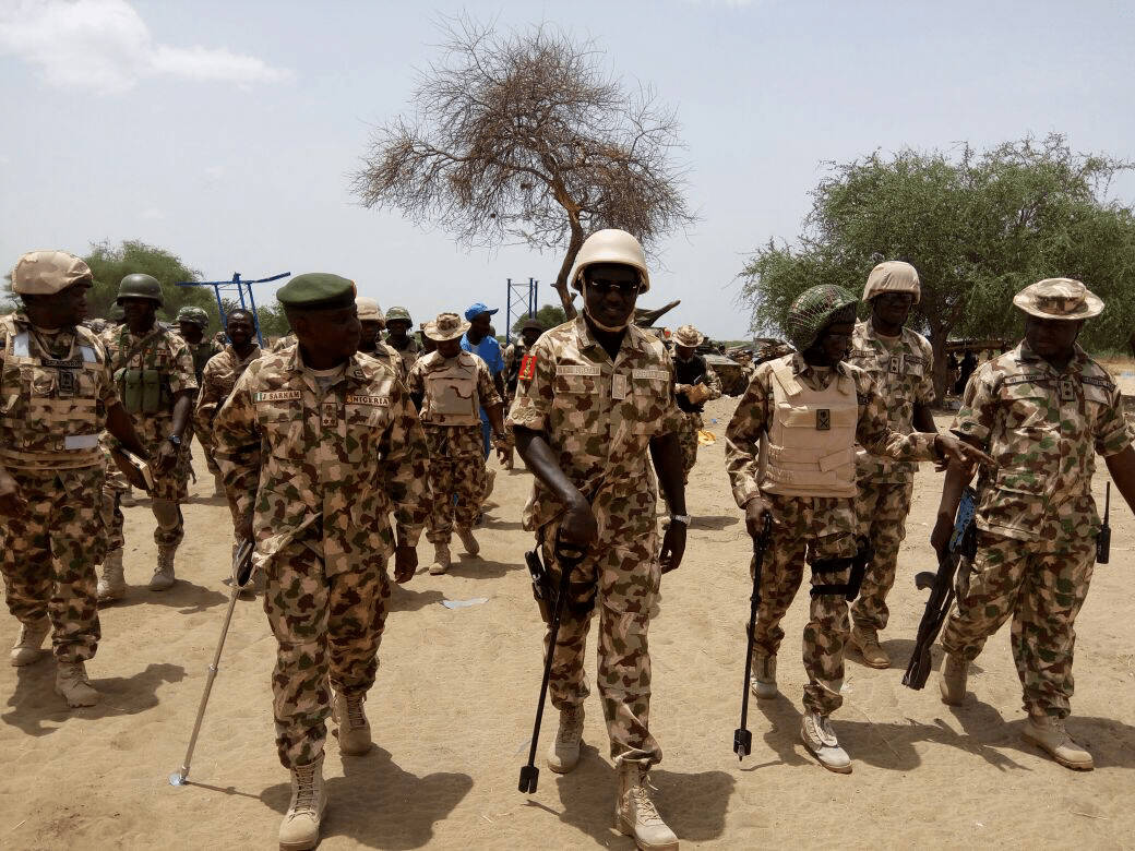 BOKO HARAM: YOU MUST IDENTIFY THEIR ENCLAVE AND FLUSH OUT THE REMINANTS____BURATAI TELLS TROOPS AT WAR FRONT