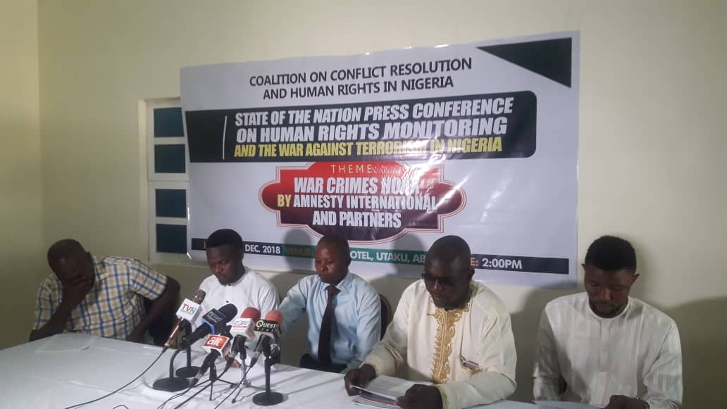 War Crimes: Rights Groups Accuses Amnesty International of Planting Fictitious Report Against Nigerian Mitary