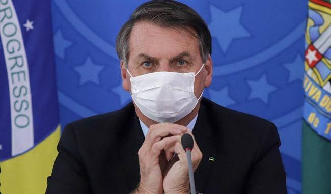 Breaking: Brazilian president tests positive to Coronavirus