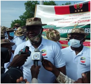 Unmask Boko Haram Members Sighted in Your Markets, GOC 7 Div Urges Traders in Maiduguri